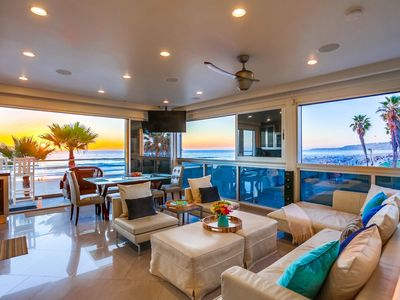 Photo for Oceanfront Modern Penthouse w/ Ocean Facing Deck, Panoramic Ocean Views