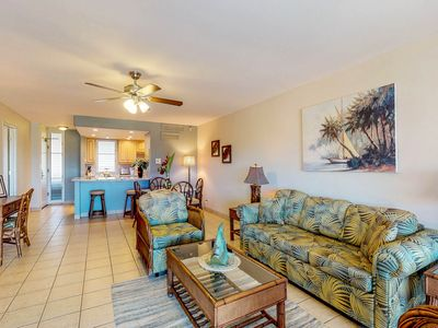 Photo for NEW LISTING! Ocean view unit w/shared pools, WiFi-watch sunsets from your lanai