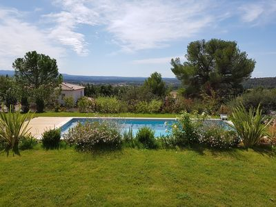 Photo for Recent Bastide near Aix en Pce ideal for 2 families with children