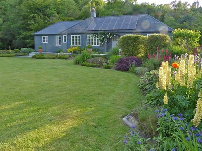 Detached timber framed luxury home on Dartmoor surrounded by large  gardens.