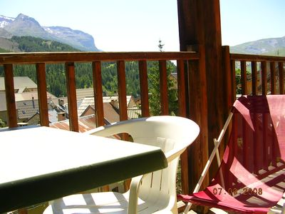 Photo for Cozy apartment 2 ** facing South facing the forest and glaciers.