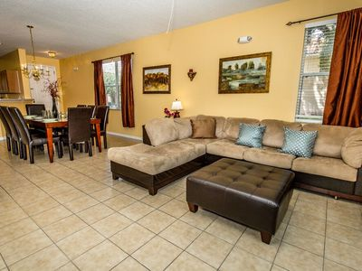 Photo for Beautiful Townhome, Minutes to Disney and Universal, 3BD/3BA, Sleep up to 9