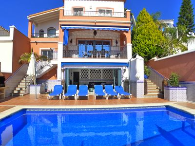 Photo for Spacious villa to sleep 10 people with large private pool.