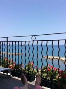 Photo for Old Antibes seafront with 3 min to beach, Marche Provencal and Picasso Museum