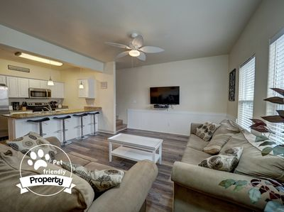 Open first floor is ideal for enjoying time with loved ones