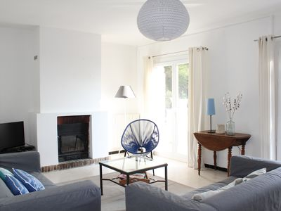 Photo for Villa sea view and pool in luxury residential park, Beach at 3 min