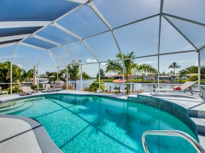 Photo for Modern Villa SW of Cape Coral in quiet Surfside Blvd area with gulf access