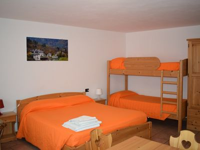 Photo for Italo-Swiss App 1 - studio apartment sleeps 4