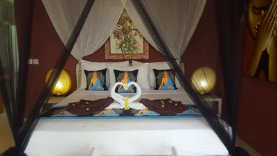 Photo for 4* POOL SUITE 27m2 all comfort, 1-3guests, Umalas 8min to beach Canggu Seminyak