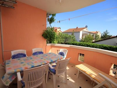 Photo for Three bedroom apartment with terrace Medulin