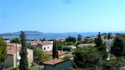 Photo for Very nice apartment in Bandol of 82m² with terrace and sea view for 6 people