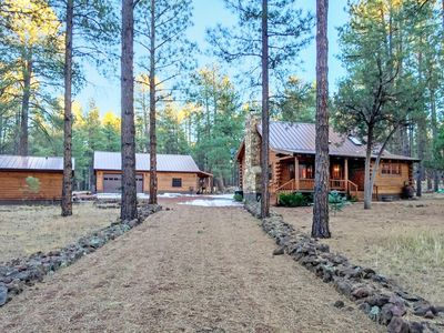 Photo for 2family Cabins on 3Acres,Sleeps11,Williams,Gr.Canyon,Sedona,BearizonaFishRelax!!