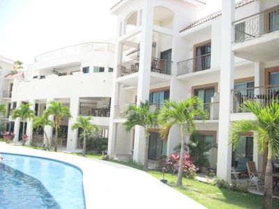Photo for Riviera Maya -Just steps from the beach and a short walk to town by land or sea