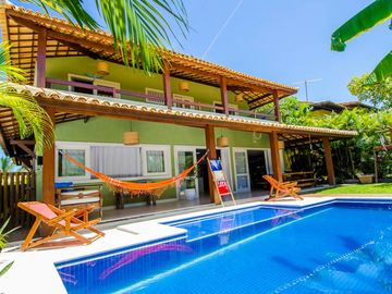 04 suites sea view - 90 meters of the natural pools and close the village