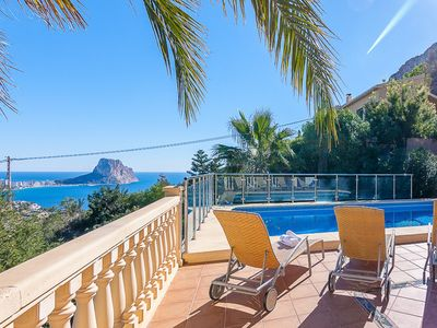 Photo for LUIS, villa for 10 guests with panoramic views in Calp