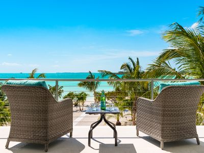 Photo for Sun!  Warmth! Turquoise! Taylor Bay Beach - Private Pool and Perfect Sunsets