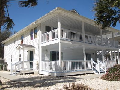 Photo for Really close to the beach! Ground Floor, 3 Bedrooms 2 Baths and a Pool