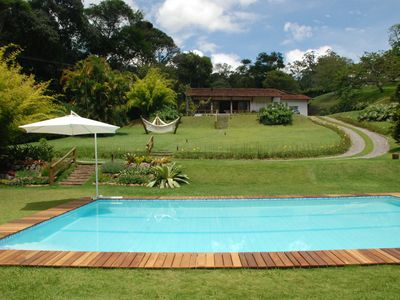 Photo for House w / 5 suites, private pool, 250m from the center of the Valley of the Vines