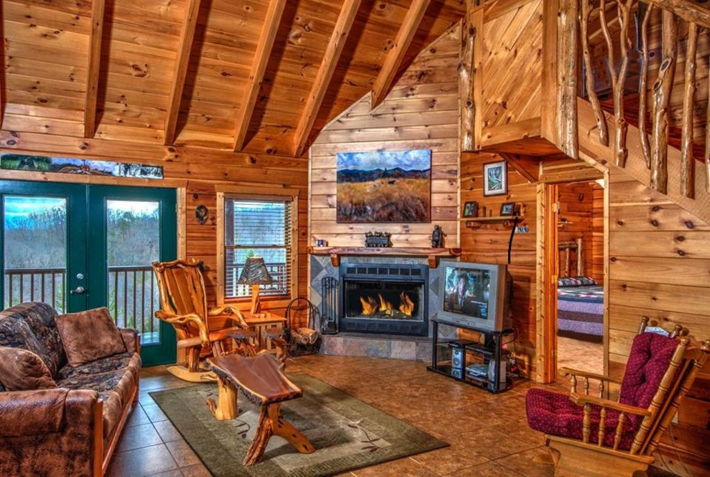 1 Of A Kind Log Cabin Incredible 360 Views Completely