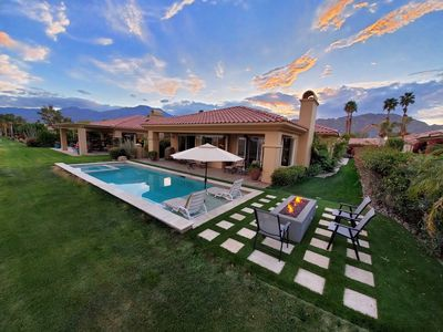 Photo for PGA West Oversized Home With Heated Pool, Tanning Shelf, Spa, & Fire Pit