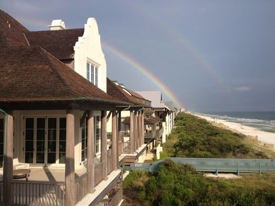 Photo for Gulf Front House Right on Rosemary Beach, Short Walk to Aly's Beach