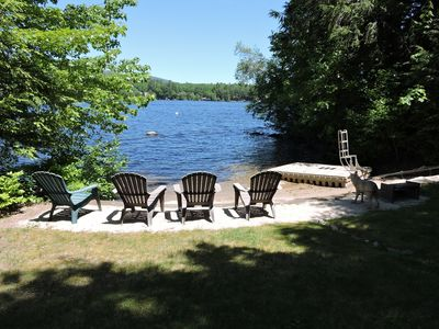 Photo for Awesome Winnipesaukee Waterfront Sand Beach Dock Slps 10 AUG 24 WEEK SPECIAL