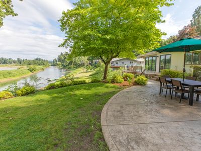 Photo for Private Willamette Riverfront Oasis - Main Level