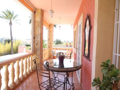 Photo for GALATEARURAL at 8 KM. BENIDORM, A / C, pool, private barbecue, 3000m. YARD