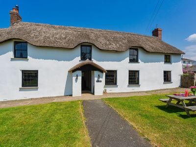 Photo for BRAUNTON POYERS FARMHOUSE | 6 Bedrooms | Braunton | Sleeps 16 | Hot Tub |