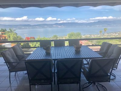 Photo for BEAUTIFUL HOUSE WITH A FULL VIEW TO THE LAKE OF CHAPALA AND MOUNTAINS
