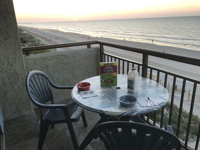 Photo for Experience a Panoramic View of the GrandStrand from our Our Oceanfront Condo