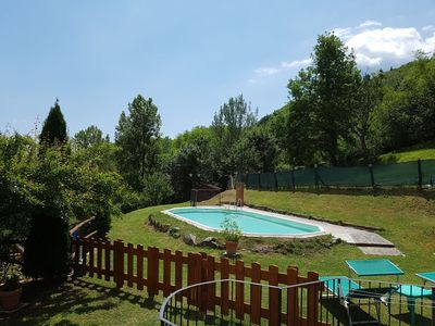 Photo for Restored Mill, riverside, private pool, WIFI, romantic!