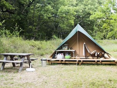 Photo for Camping Huttopia Senonches *** - Bonaventure Tent 1 Room 2 People