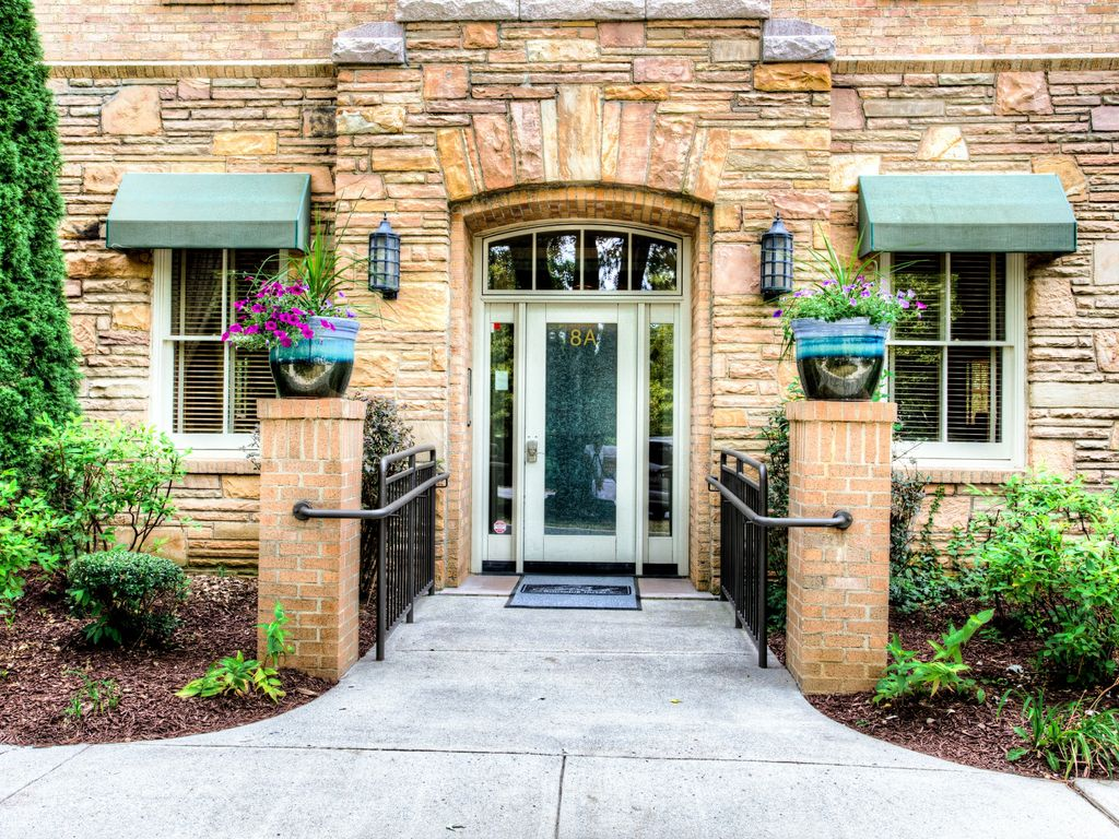 Entrance Into The Posh Hotel And Your Biltmore Village Flat