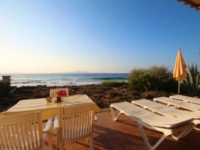 Photo for Finca for 4 people directly by the sea