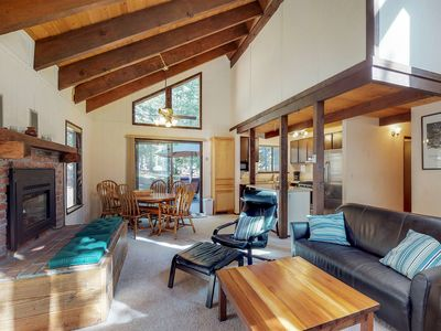 Photo for NEW LISTING! Mountain cabin w/shared pool & hot tub access & gym-close to skiing
