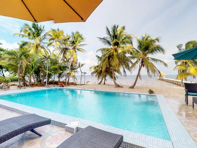 Photo for Oceanfront condo with amazing water views and a shared pool!