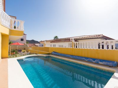 Photo for Comfortable Apartamento Villasol with Pool, Wi-Fi, Terrace, Mountain & Sea View, Parking Available, Pets Allowed