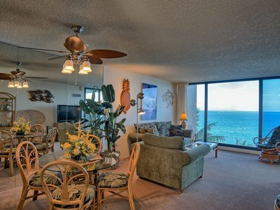 Photo for 100% Oceanfront & On The Beach!! The Mahana -8th floor, 1BR/2bath, Sleeps 4
