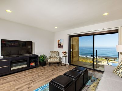 Oceanfront Sea'batical - Remodeled Oceanfront with Fireplace