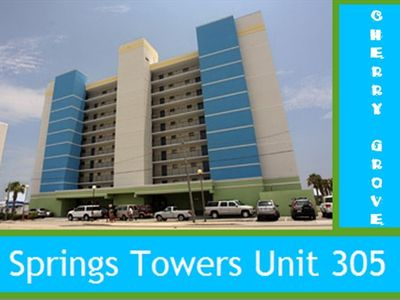 Photo for Cherry Grove Springs Towers Oceanfront~ Best location in CGB!
