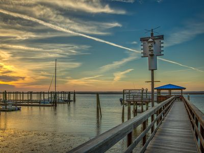 Photo for Beautiful Loft with Porch & Dock on Intracoastal Waterway; Spectacular Sunsets!