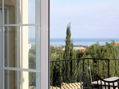 Photo for 4 Bedroomd Air-Conditioned Villa with Fresh Water Pool and Sea Views Kyrenia