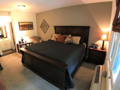 Photo for Bella Paradiso #9, King Bed with Kitchenette, Walk to Downtown, Free Parking, Wifi, Front Balcony