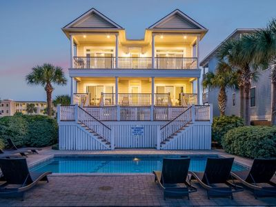 Photo for 15% OFF! 'Palm Manor' on Isle of Palms ~ PRIVATE POOL (Heatable), ELEVATOR, OCEAN VIEWS