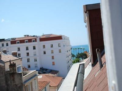 Photo for Studio with a view 100 meters from the Palais des Festivals