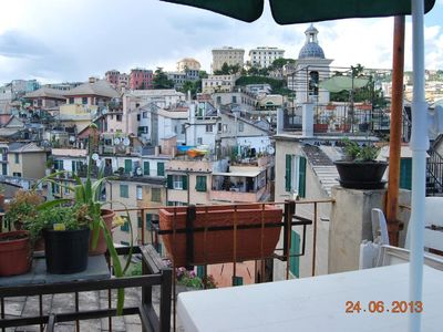 Photo for THE GECO ON THE ROOFS OF GENOA