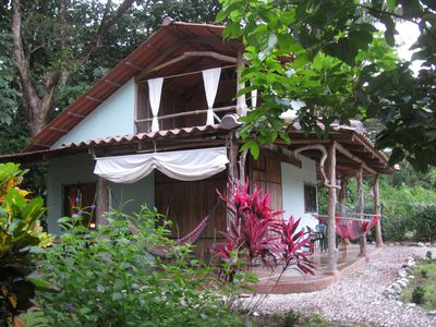 Photo for Charming, peaceful bungalow in the beach side village of Cabuya