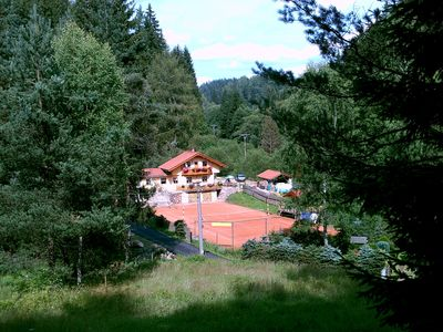 Photo for Holiday house On the tennis court and garden with barbecue facilities