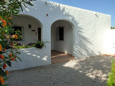 Photo for CASA CELESTINA 63 m² with pool, bike, kayak, safe and internet WIFI.